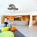 Neue Rezeption im Hotel Vier Jahreszeiten Loipersdorf