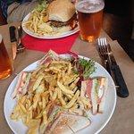 Club Saumon et Spicy Burger