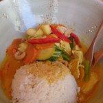 Reisgerichte: fruchtiges Hühnchen Curry