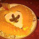 Dessert orange cannelle