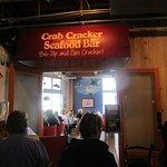 Crab Cracker Seafood Bar - inside entrance