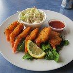 Crab Cracker Seafood Bar - shrimp dish