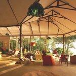 Rubondo Island Camp Lounge Area
