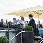 Rooftop Terrasse Restaurant Moritz