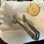 Just one bread roll left 30 mins before the end of breakfast serving