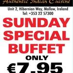 Buffet on Sundays
