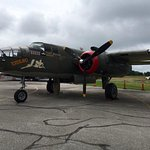 WWII bomber display this past weekend