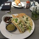 Mahi mahi fish tacos at Bluewater Grill, Redondo Beach