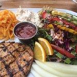 Great Cajun chicken salad.
