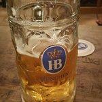 Hofbrauhaus beer in Munchen