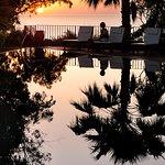 riflesso tramonto