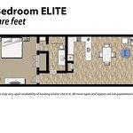 1 Bedroom Floor Plan Elite