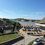 View from Penthouse Apartment, top floor no 6 Porth Sands