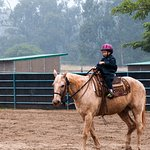 Learning to ride was the highlight of this 6 year old's vacation