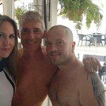con Alessandro & Iván