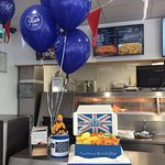 National Fish & Chip Day Cake