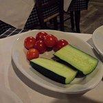 Cetriolo e pomodorini
