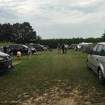 Camping fields and park