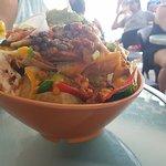The Nachos appetiser was huge :-)