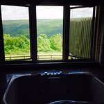 View from Bristol Suite tub