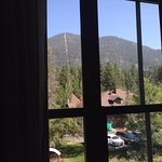 View out of the suite towards Heavenly mountain
