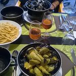 Nos moules frites