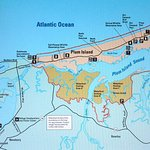 Video Map of Plum Island at Education Center