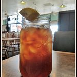 When we asked for Ice Tea, we didn't expect this! One serving is all ya need!