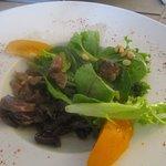 salade de gésiers et pignons