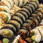 Sushi 72 biter...538,- 16 Nigiri 32 Sashimi 24 Futo maki