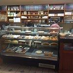 Pasteries inside La Baguette