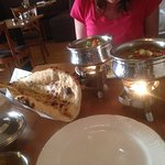 Great naan, great curry, great kept warm