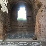 One little bit of the Caracalla baths, the whole place is amazingly huge and well preserved.