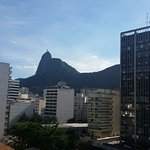 View of Botafogo taken from the balcony of room