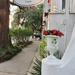 Next to the front entry - hotel is along the horse-carriage tour route