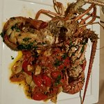 The best Caribbean lobster over fresh fettuccine I have eaten ever. Need try this amazing dish.
