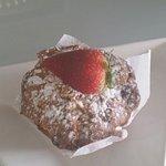 Yummy homemade berry muffins