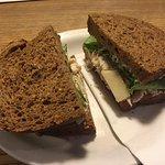 Delicious Chicken Caesar Sandwich