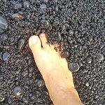 Honokalani Black Sand Beach