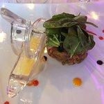 Tartare de thon rouge aux épices
