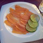 """salmon """"sashimi"""""""