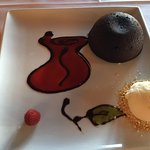 Chocolate fondant for dessert!