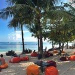 Beach bean bags