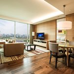 Our Two Bedroom Suite with view at Yeouido Park Centre, Seoul - Marriott Executive Apartments