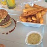 Cap burger pour les enfants