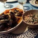 Cassolette fruits de mer aux 3 riz.