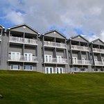 Vue d'ensemble de l'hôtel (côté lac)