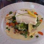 filet de poisson et ses petits légumes