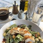 Really nice caffe, tasty food, good coffee, friendly stuff. Caesar salad is great.