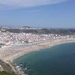 Playa espectacular, vistas desde el mirador inexplicables, magestuoso... Necesario verlo para cr
